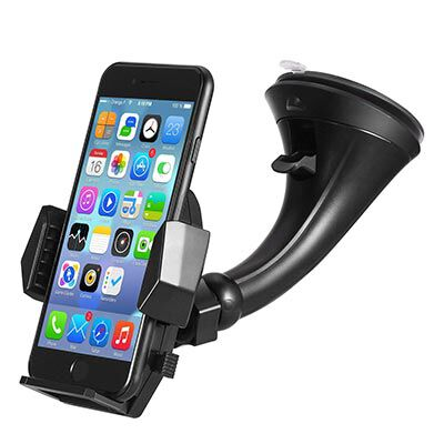 10. Getron Universal Windshield Cell Phone Cradle