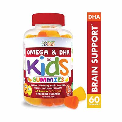 #3. Feel Great 365 Complete DHA Gummies for Kids in Chewable Vegan Supplement