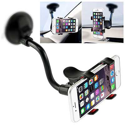 2. IVOLER Car Phone Mount