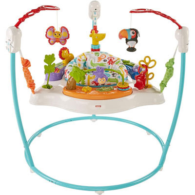 9. Fisher-Price Jumperoo, Blue