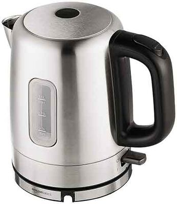 #6. The Basics Amazon Stainless Steel Electric Kettle