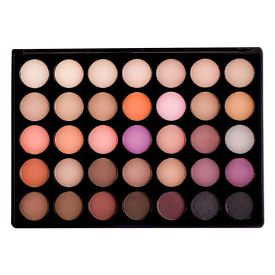 9. Sienna Blaire Beauty Eyeshadow Palette with 35 Color Shades for Women