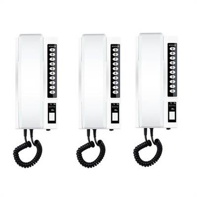 #3. R RUISE 3Pcs 433Mhz Secure Interphone Wireless System Extendable for Office Home & Warehouse