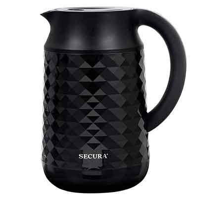 #1. Secura Cool Touch Temperature Control Water Kettle