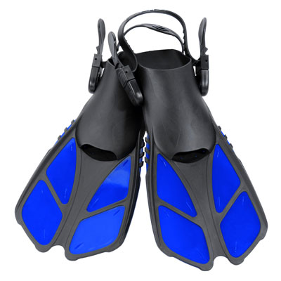 5. CAPAS Snorkel Fins with an Open Heel Design