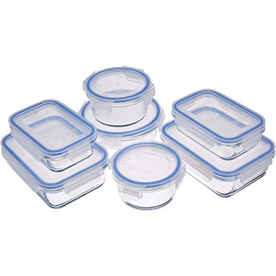 #4. AmazonBasics Lunch Box Containers