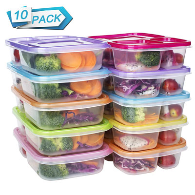 #6. DOURA Lunch Box Containers