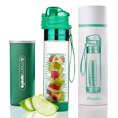 10- MAMI WATA Infuser Water Bottle