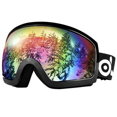 8. Odoland Snow Goggles Anti-Fog and Windproof with S2 Double Lens