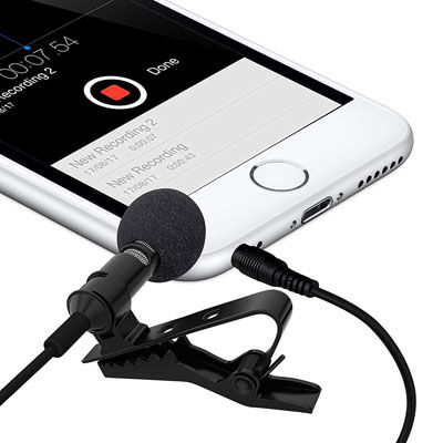 10. Ultimate lavalier microphone