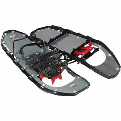 #6. MSR Ultra-Light PosiLock Bindings Lightning Ascent & Mountaineering Snow Shoes