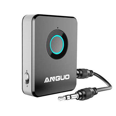 1. ANGUO Bluetooth Receiver for Home Stereo System