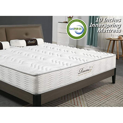 8. Rucas Memory Foam Mattress, CertiPUR-US Certified