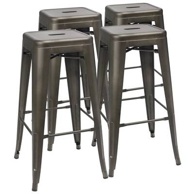 #5. Furmax 30 Inches Bar Stools for indoor and Outdoor Use, Set of 4