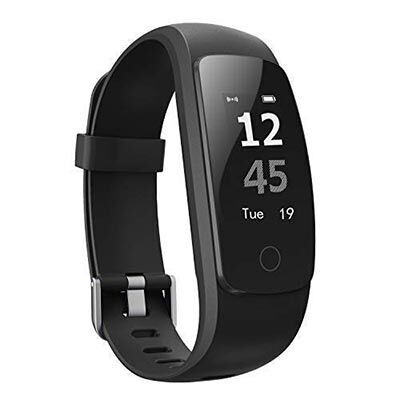 4. AUSUN Fitness Tracker, with Connected GPS, for Men Women and Kids