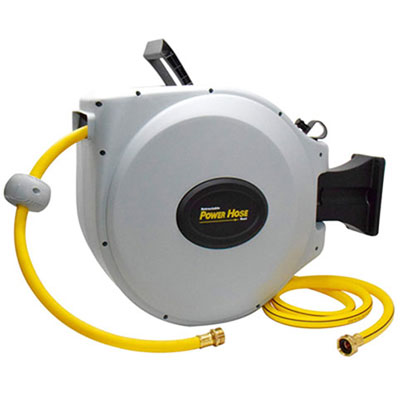 6. Power ProductsUSA Retractable Hose Reel