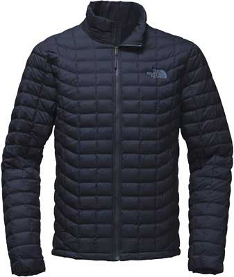 #1. The North Face Durable Water-Repellant ThermoBall Insulation Men's Tall Puffer Jacket