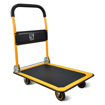 3. Wellmax Push Cart Dolly with 660lb Load Capacity