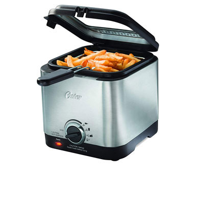 #10. Oster CKSTDF102-SS Stainless Steel Electric Deep Fryer
