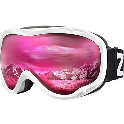 6. Zionor Lagopus Snowboard Goggles for Men, Women and Youth