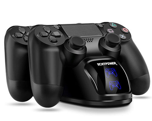 4. ECHTPower PS4 controller charger PS4 charging Dock, Dual charger