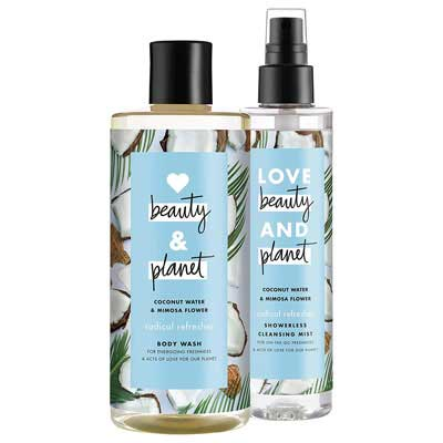 #10. Love Beauty & Planet Mimosa Flower Radical Body Wash