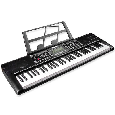 3. Mugig 61-key Electronic Portable Keyboard with an Intelligent Teaching Feature (Kids & Adults)