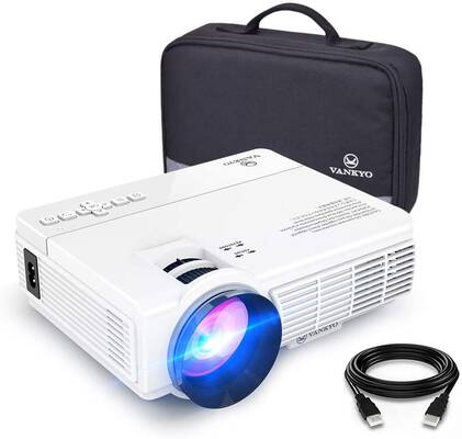 #5. VANKYO Leisure 3 Mini Projector, 1080P and 170