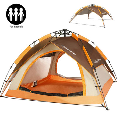 2. ZOMAKE Camping Tent - Easy Setup with Carrying Bag