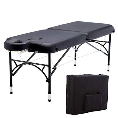 7. Artechworks 84 Inches Lightweight Massage Table With Aluminum Leg