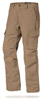 #4. LA Police Gear Urban Ops YKK Zipper Elastic Waistband Rip-Stop Fabric Men's Tactical Cargo Pants