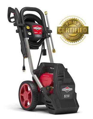 #9. Brigg & Stratton Electric Pressure Washer 2200