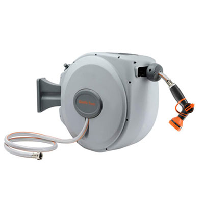 5. Giraffe Retractable Hose-Reel, Wall Mount