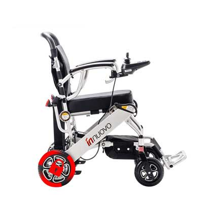 4. Innuovo N5513A Foldable Lightweight Compact Carry Electric Wheelchairs
