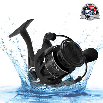 2. Cadence CS5 Spinning Reel with 9 Low-Torque Bearings