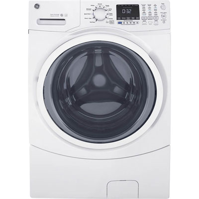 1. GE GFW450SSMWW Compact Washing Machine, White