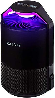 4. Katchy Indoor Fly Trap with Suction (Black)