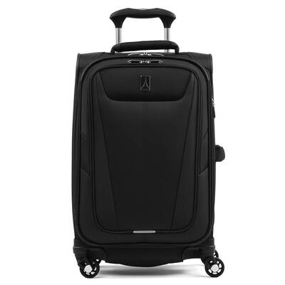 #10. Travelpro Maxlite 21'' 5 Lightweight Carry-On Expandable 4 Wheel Softside Luggage (Black)