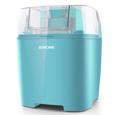 6. BIMONK Ice Cream Maker- 1.5 Quart