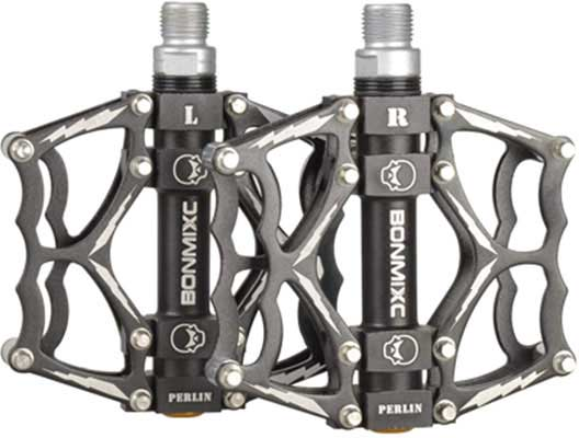 3. BONMIXC Bike Pedals with Sealed Bearings