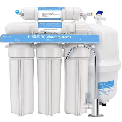 6. HiKiNS Water Filtration System -FDA Certified