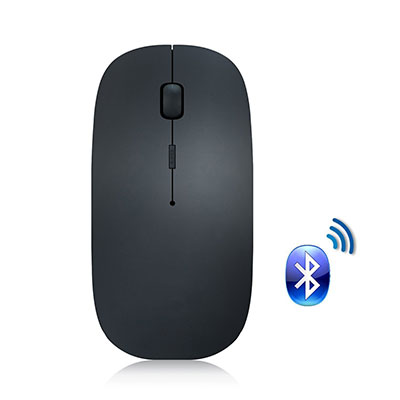 2. Attoe Bluetooth Mouse Noiseless and Easily Rechargeable (Black)