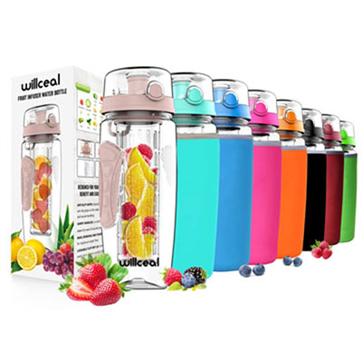 7- Willceal Infuser Water Bottle