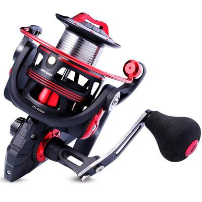 8. One Bass Fishing reel- Light Weight for Saltwater and Freshwater