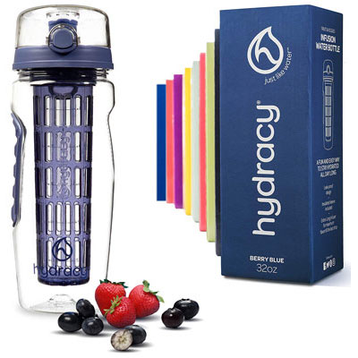 5- Hydracy Infuser Water Bottle