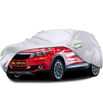 5. BLIIFUU SUV Protection Car Cover- Waterproof and Dustproof