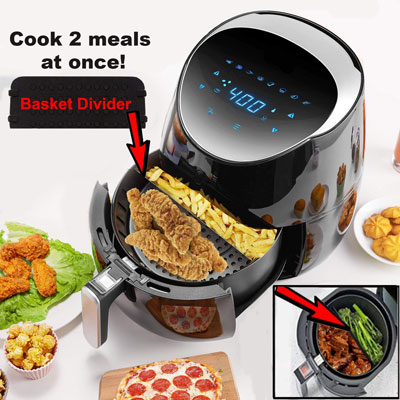 #2. YEDI HOUSEWARE Air Fryer Oven