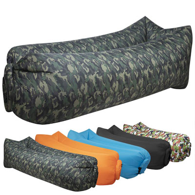 2. hybag Inflatable Lounger for Traveling, Camping or Festivals