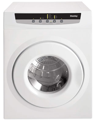 4. Danby DDY060WDB Compact and Portable Dryer, White