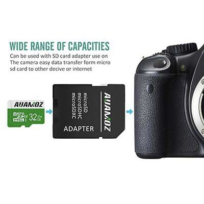 #7. AUAMOZ 32 GB SD card for phones, Tablets, and PCs.